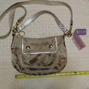 Coach signature groovy handbag